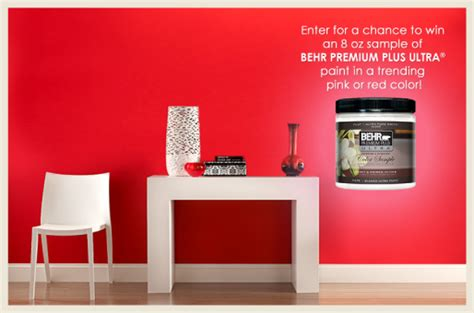 colorfully behr pink color sle promo