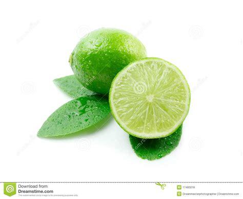imagenes de limones verdes limones verdes con las hojas foto de archivo imagen de