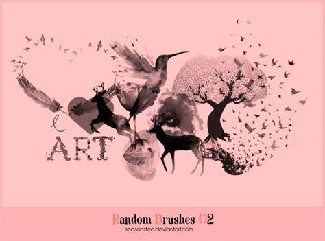 random pattern brush photoshop random brushes 02 photoshop brushes