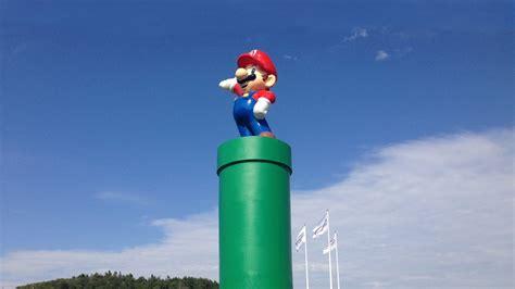 massive  mario statue     sweden