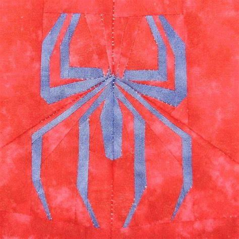 pattern for spiderman quilt spiderman by liljabs paper piecing quilt patterns
