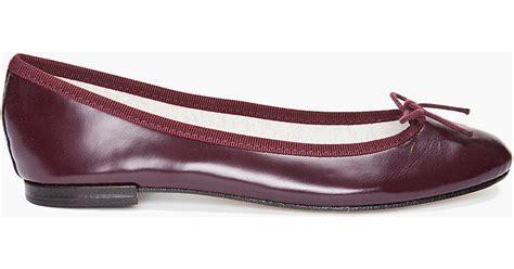 Repetto Caperino Peperone Bb Ballerina by Repetto Bb Glazed Ballet Flats In Purple Lyst