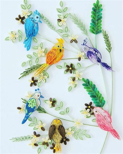 paper quilling birds tutorial 1453 best quilling karty images on pinterest paper