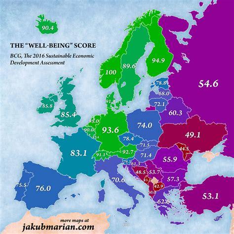 best countries to live best countries to live in europe 2016 map