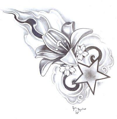 Tattoovorlagen Blumen Und Sterne 5100 by Flowers And Designs Image 79