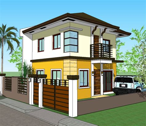 3 storey terrace house design 2 storey house design with terrace house design ideas