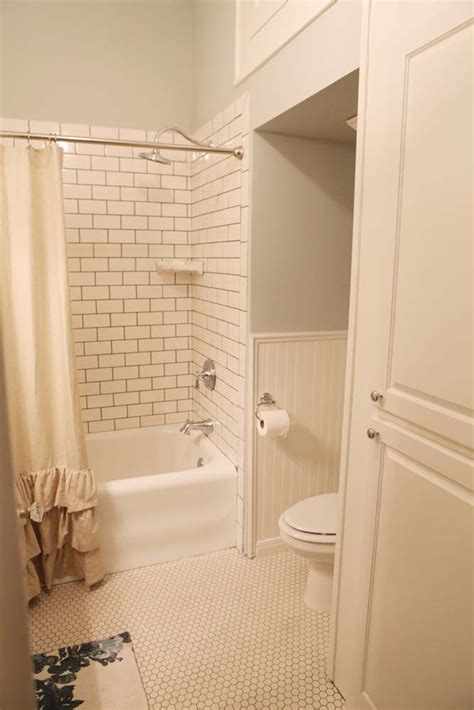 magnolia bathroom fixer upper toilets shower tiles and the white