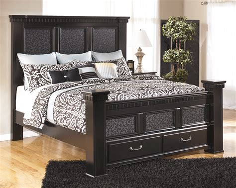 cavallino bedroom set ashley cavallino mansion storage bedroom set b291