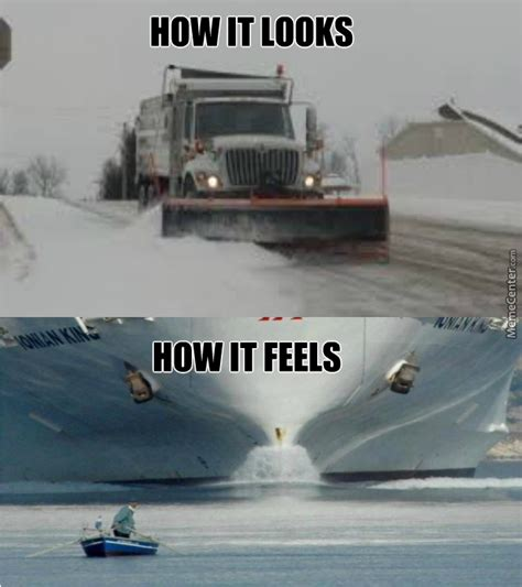Winter Storm Meme - when you drive in a snowstorm same time as the plow trucks