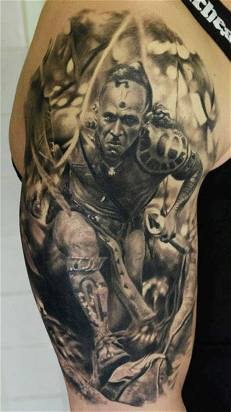 10 fierce warrior tattoos perfect tattoo artists