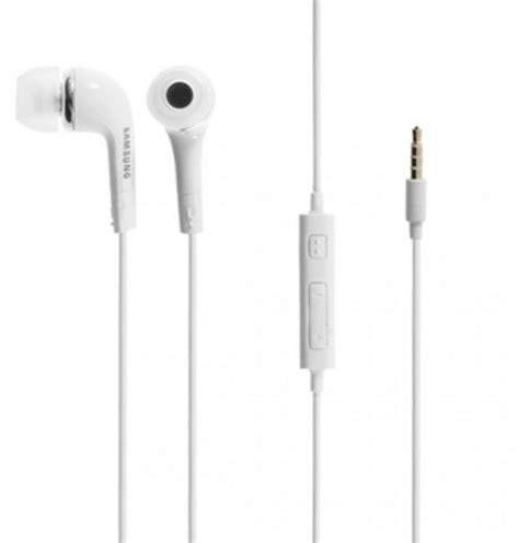 ausinės samsung ehs44afswe universal original headset with microphone 3 5mm 1 2m baltas