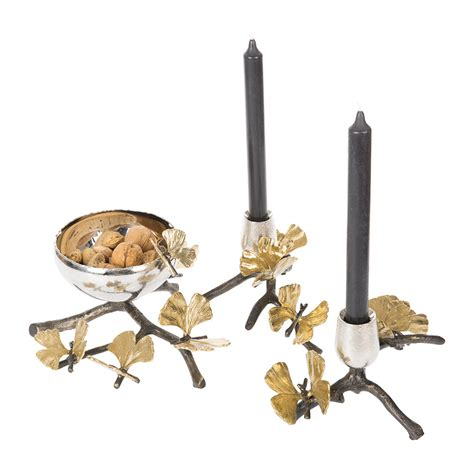Butterfly Candle Holder buy michael aram butterfly ginkgo candle holders set of