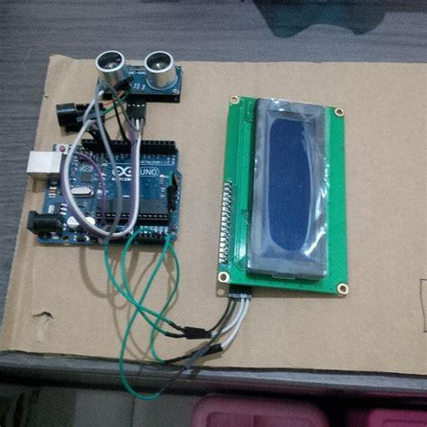 Sensor Jarak Hc Sr04 pengukuran jarak menggunakan sensor ultrasonik hc sr04 dengan mikrokontroler arduino uno r3 dan