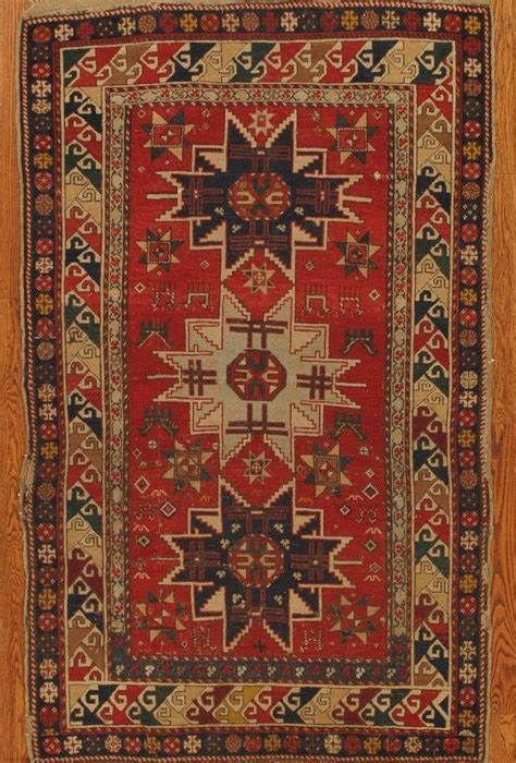 European Style Home antique shirvan rug