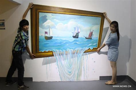 3d Artist by At 3d Gallery In E China China Org Cn