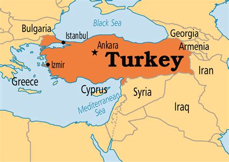 turkey on the map turkey map neighboring countries