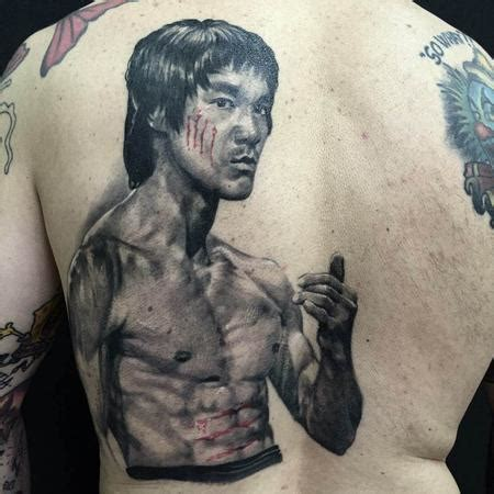 bruce lee tattoo the map tattoos page 1