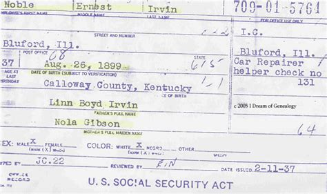 Social Security Office Mayfield Ky by I Of Genealogy Free Databases Social Security