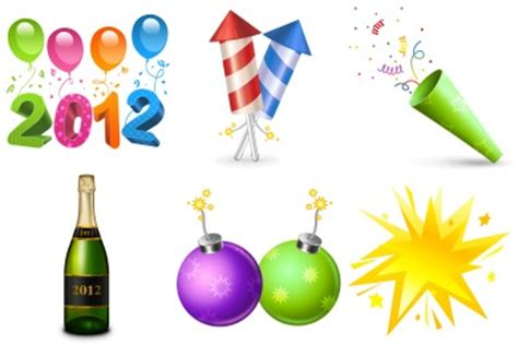 new year icon free new year iconset 12 icons youthedesigner