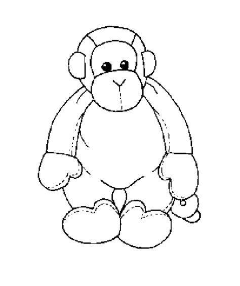beanie babies coloring page ann s virtual reality coloring pages characters