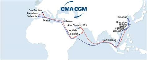 cma cgm schedule to cma cgm container tracking china to mediterranean