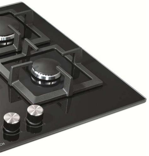 bosch cooktop bosch 70cm series 6 black ceramic glass gas cooktop