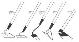 ugm vi the growing season - Different Types Of Garden Hoes
