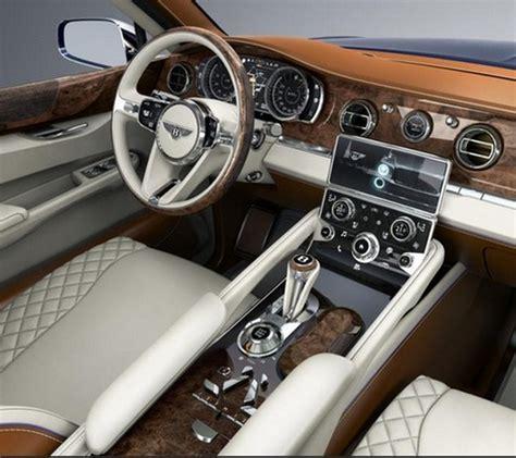 Bentley Interior Colors Bentley Bentayga Production Suv Turbozens