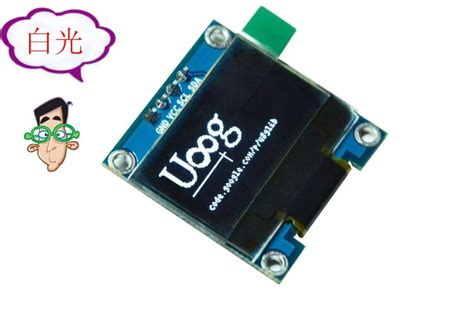 Oled Module 2 Colors White And Blue free shipping white and blue color 0 96 inch 128x64 oled