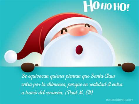 imagenes de santa claus navideñas con frases ho ho ho