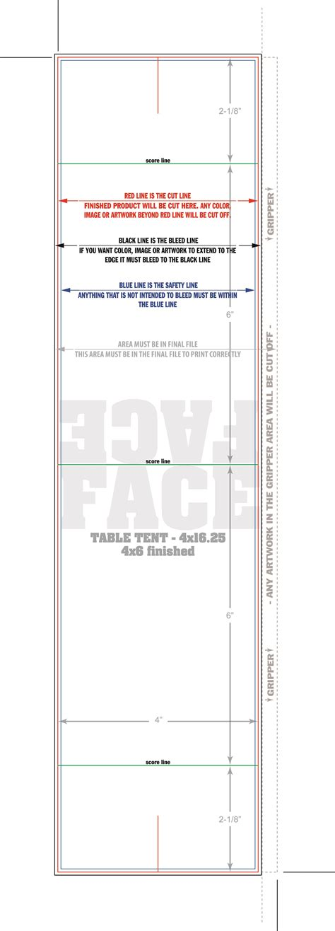 Table Card Tent Template by Tent Card Template Cyberuse