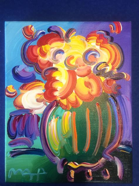 Max Vase Of Flowers by Charitybuzz Vase Of Flowers By Max Lot 443104