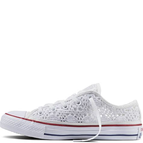 Converse Allstar Chuck Low chuck all crochet converse low tops womens