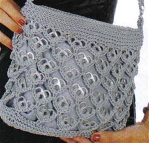 tejer con fichas de lata 1000 images about bolsas on pinterest crochet bags