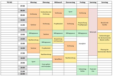 time schedule template excel free time management tips time management and business tips