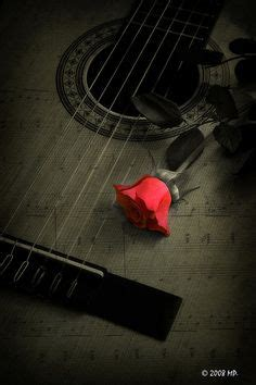 rose theme guitar i like this represents two sides of music some songs get
