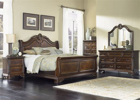 highland court sleigh bedroom set 620 br qsl liberty