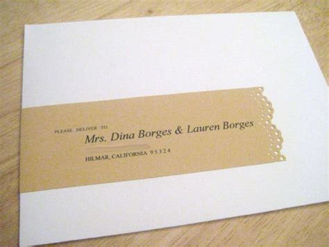 How To Properly Address Wedding Invitations