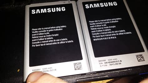 Batery Samsung Note 3 Original real or note 3 battery