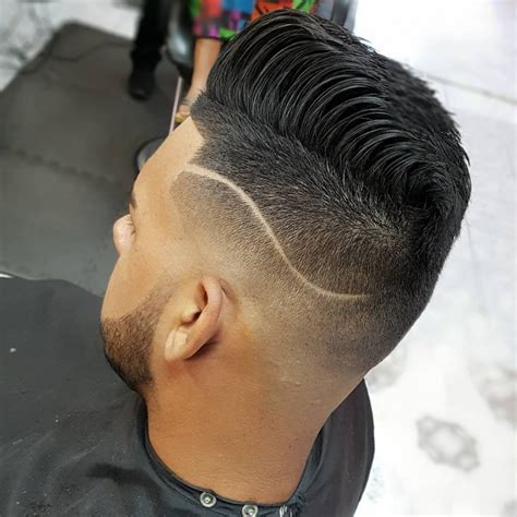 medium fade hairstyle 21 with thick hair haircut ideas designs