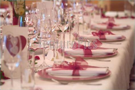 table decoration stock image featurepics