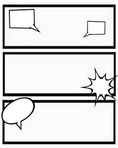 Free Printable Comic Template by 6 Best Images Of Template Printable Comic