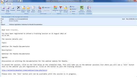email register webinar module moodledocs