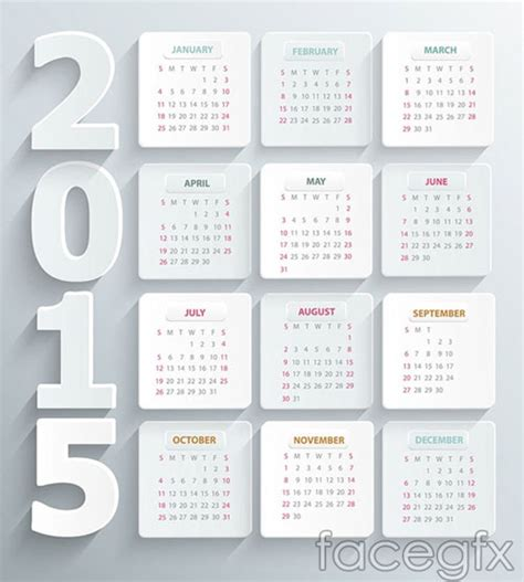 design calendar template download 15 free 2015 vector calendar design templates designfreebies
