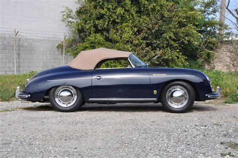 porsche speedster 1957 porsche 356a speedster european collectibles