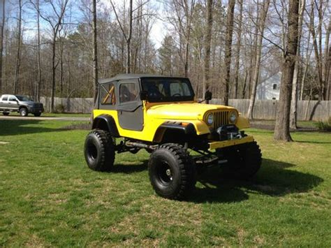 offroad jeep cj purchase used 1984 jeep cj7 offroad v8 305 in moseley