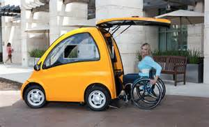 Electric Vehicle News Invents Amazing Car That Wheelchair Users Can Just