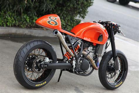 Roland Sands Ktm Milchapitas Kustom Bikes Ktm 525exc By Roland Sands