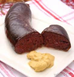 what is blood sausage with pictures