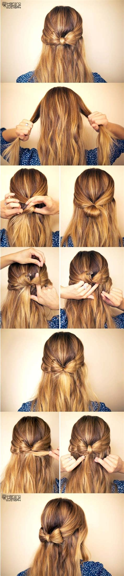 Easy Hairstyles Easy Hairstyles For Hair Step By Step Hairstyles